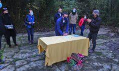 L'ex polveriera di monte Arzan torna in vita grazie ai volontari. firmato il patto di sussidiarietà