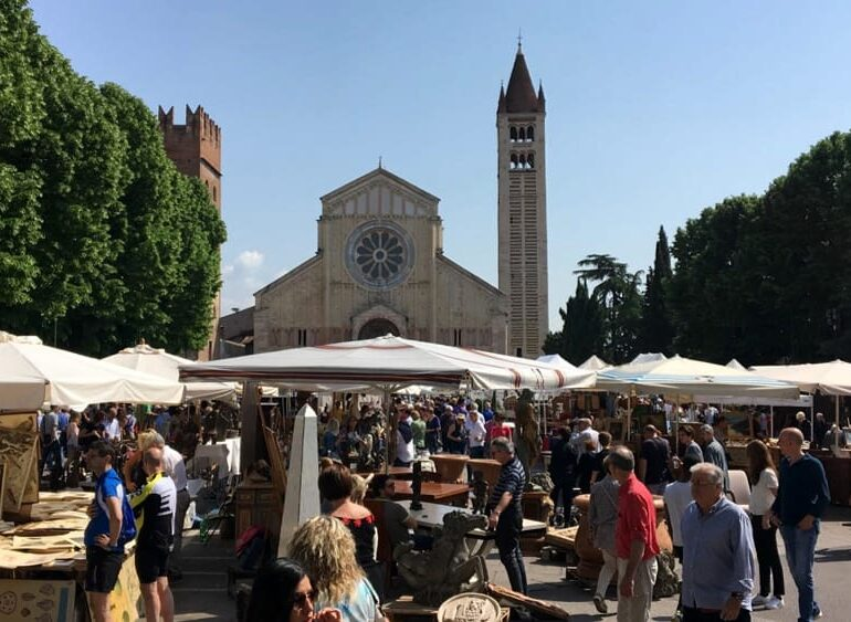 Mercato dell'antiquariato di San Zeno. Primo appuntamento dell'anno in programma domenica 17 Gennaio