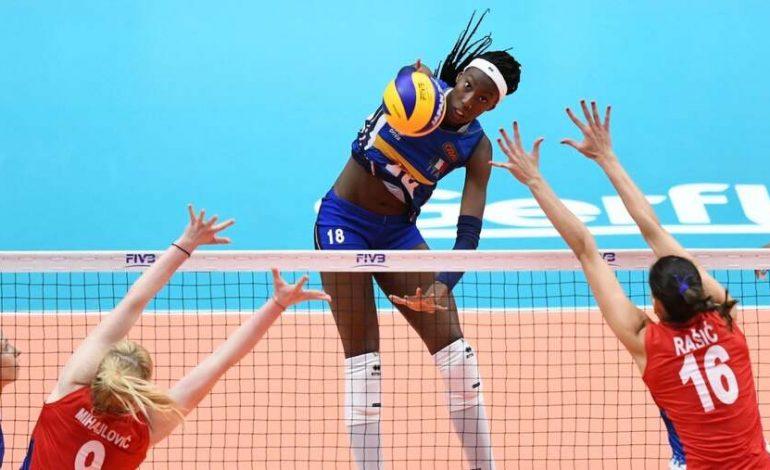 """La pallavolista Paola Egonu portabandiera olimpica. Zaia, """"Non c'è figura migliore, come donna e come atleta"""""""