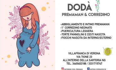 NUOVA APERTURA: Dodà Premaman & Corredino