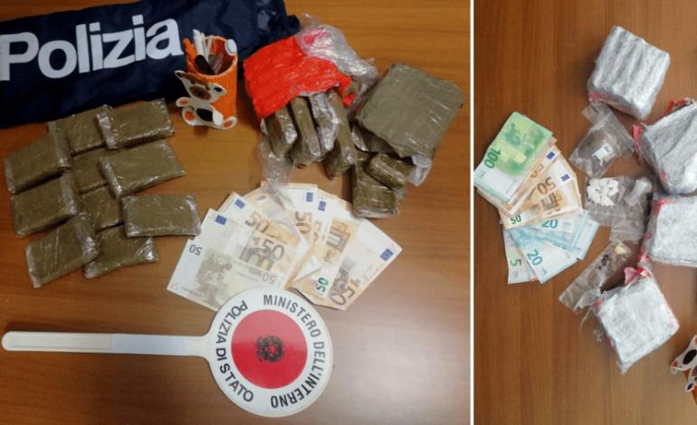 Due operazioni antidroga su Verona: la Squadra Mobile arresta 4 persone e sequestra 3 chili di hashish