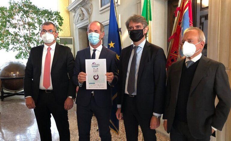 """Presentato in Regione il """"Vinitaly Special Edition"""". Date e programma completo"""